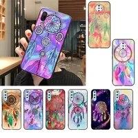 yndfcnb dream catcher watercolor dreamcatcher phone case for vivo v17 neo y91c y11 y19 y17 y15 u1 u3 v11i iqoo v11 v15 pro v17