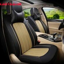 Cartailleur-housse de siège de voiture   Cuir de vache et cuir artificiel, style pour Mazda Atenza 6, housses de siège, accessoires pour voitures, coussin de sièges dauto