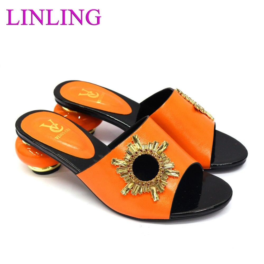 Фото - Latest Design Italian Wedding Shoes for Women High Quality African Party Women Shoe Decorated with Rhinestone Nigerian Lady italian interior design