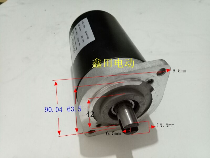 12V 24V48v 800w1200w DC motor hydraulic oil pump lifting platform power unit motor.