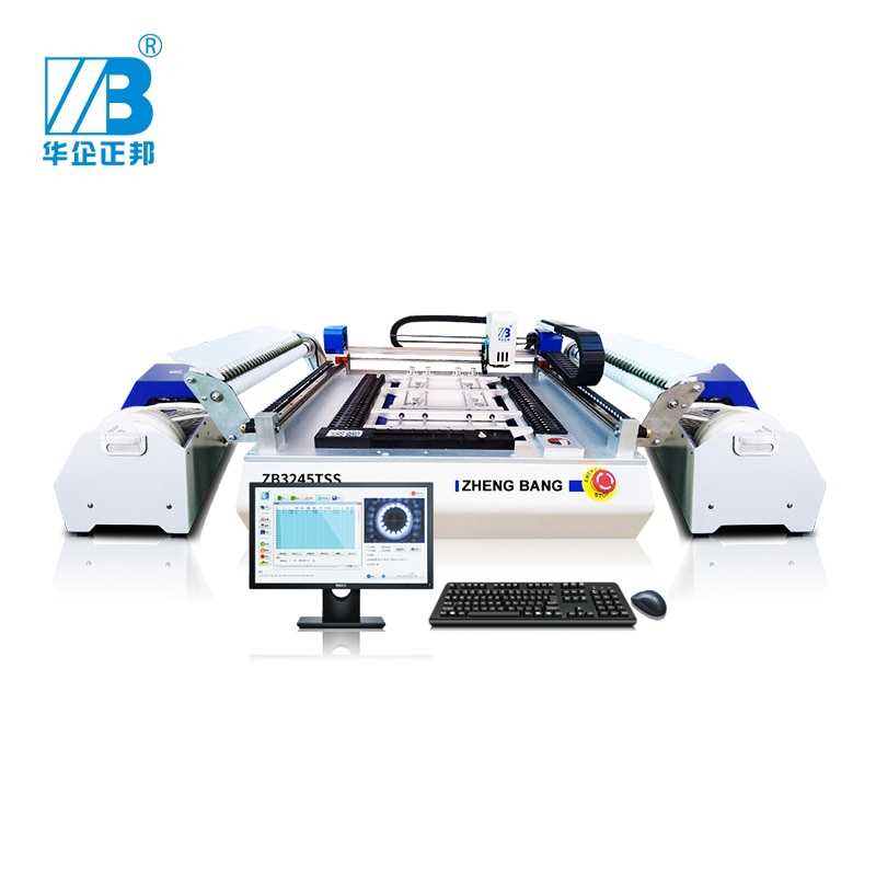 Mini Smt Mounter Desktop Head Small Manual Pick And Place Machine