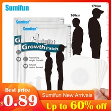 Sumifun Height Increase Foot Patch Conditioning Body Grow Taller Plaster Promote Bone Growth Foot St