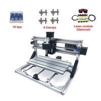 DIY מיני CNC 3018 פרו 500mw 2500mw 5500mw לייזר ראש חלק מיני מכונת CNC Pcb כרסום נתב גילוף מכונה