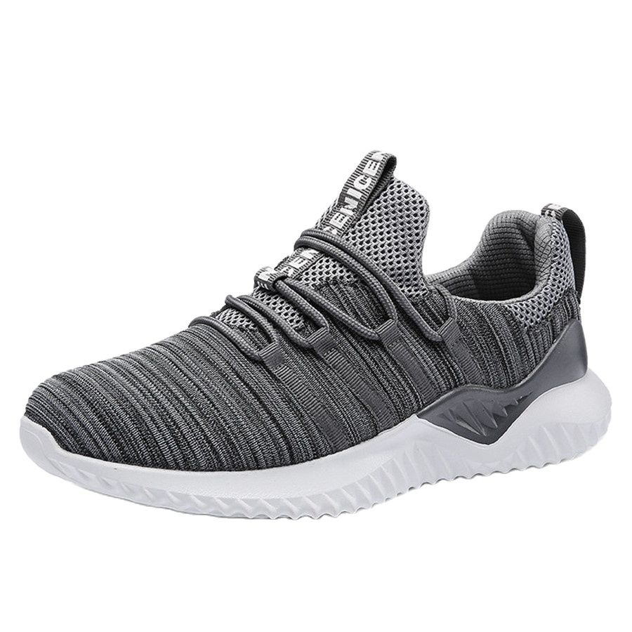 2018 Hot Sale Four Seasons Running Shoes Men Lace-up Athletic Trainers  Sports Male Shoes Outdoor Walking Sneakers