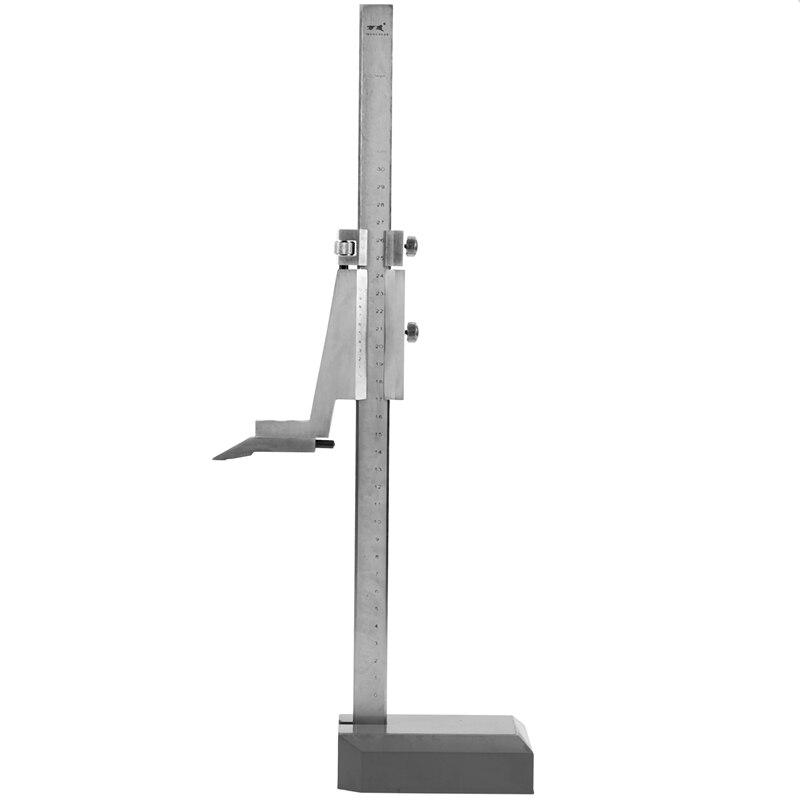 Calibrador Vernier de altura, regla de 300mm, altímetro Vernier con regla, herramienta