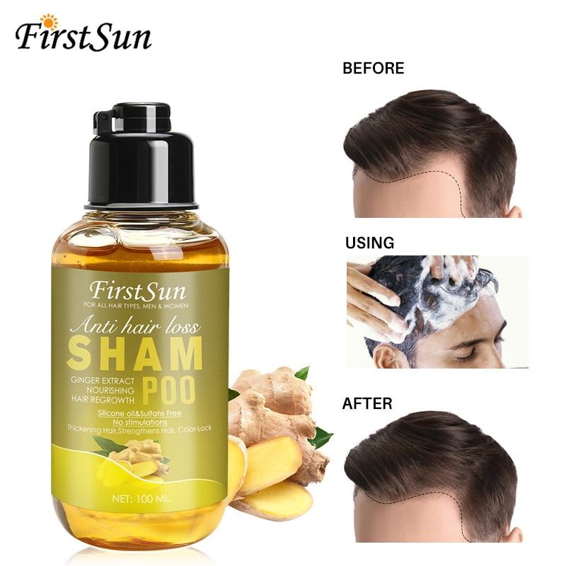 Ke Xun Ginger Shampoo Oil Control Anti-dandruff Refreshing Shampoo 100ml