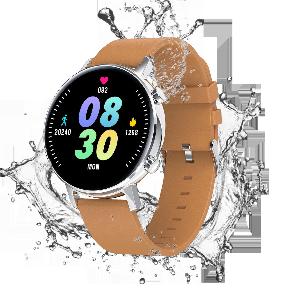 Monitoramento de Saúde Masculinos para Huawei Ip68 à Prova Smartver Água Música Jogar Feminino Relógio Inteligente Relógios Android Apple Ios Dip68