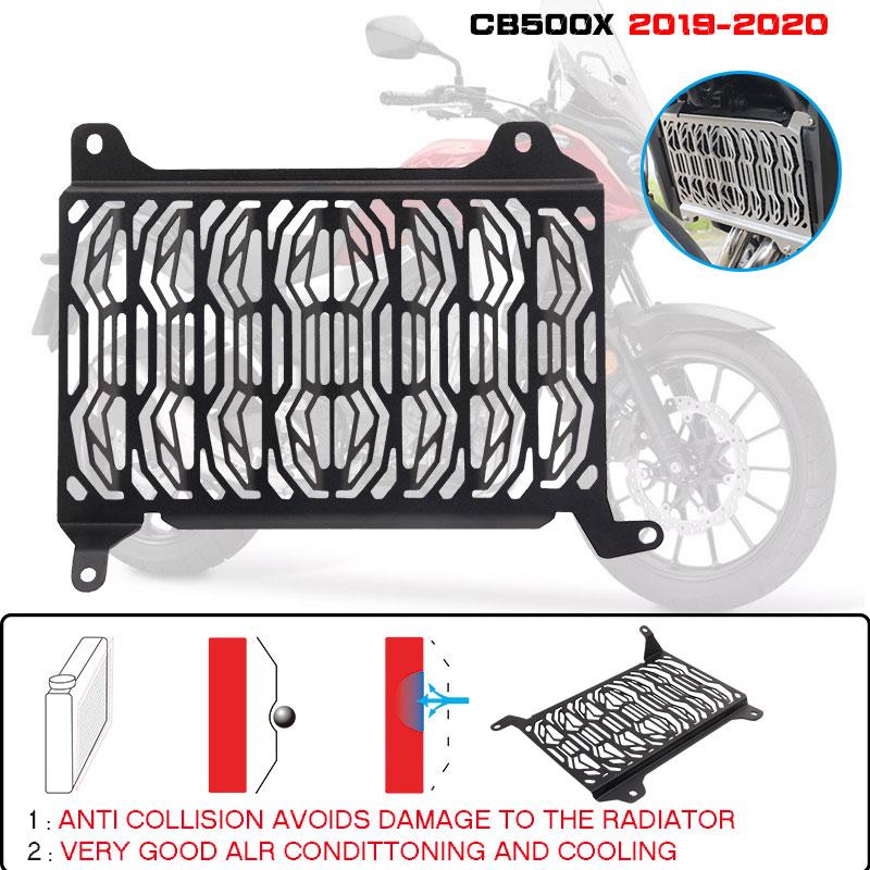 Estelle para HONDA CB500X CB 500X2019-2020 cubierta protectora de radiador de motocicleta Protector de parrilla