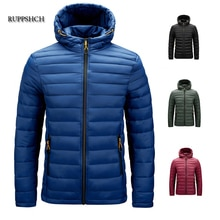Winter Jacket Men Warm Waterproof and Soft 2021 New Autumn Thick Hooded Parka Coat Men Fashion Casua