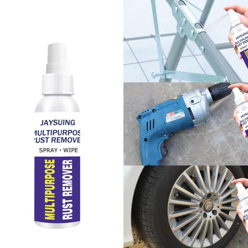Removedor de óxido de 30/50ML, inhibidor de óxido de ventana, husillo de rueda, Spray de desoxidación para Derusting, agente de limpieza de piezas de Metal