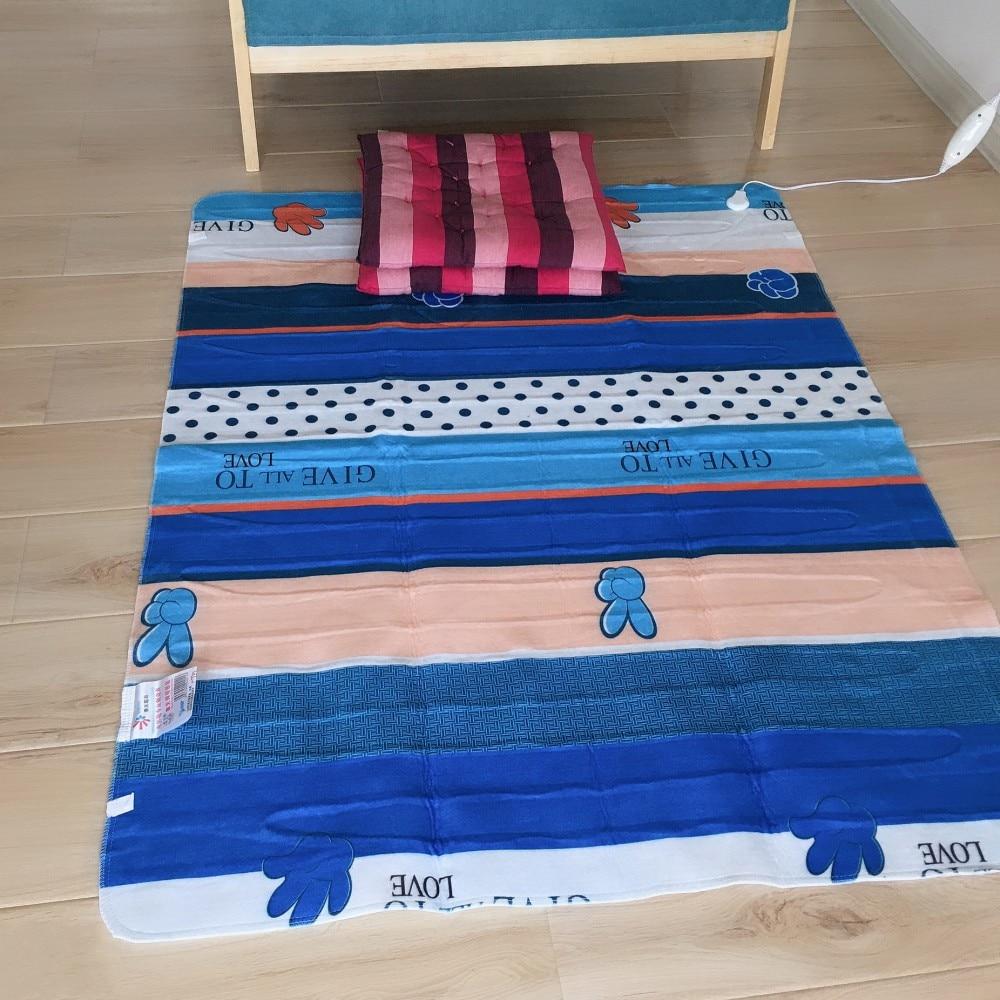 ChunTian-manta eléctrica doble, 150x120cm, para cama o sofá/manta eléctrica/manta calefactable, Envío Gratis