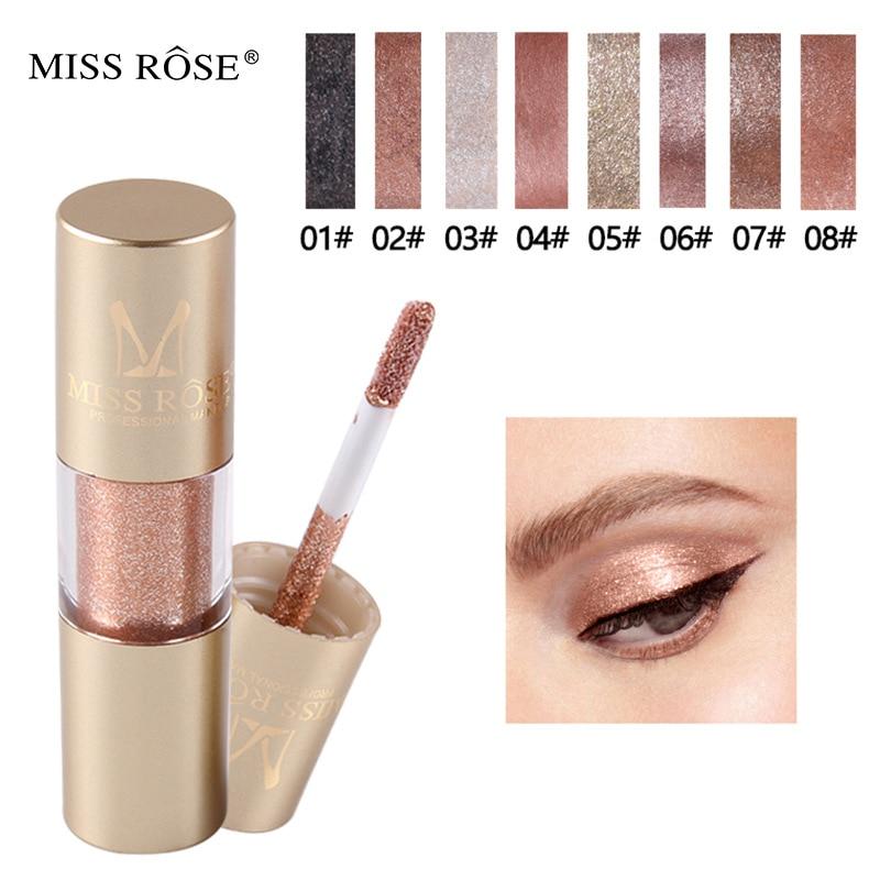 Brilho beleza sombra líquido brilhante olhos maquiagem shimmer cintilante sombra de olho gel festa olho maquiagem