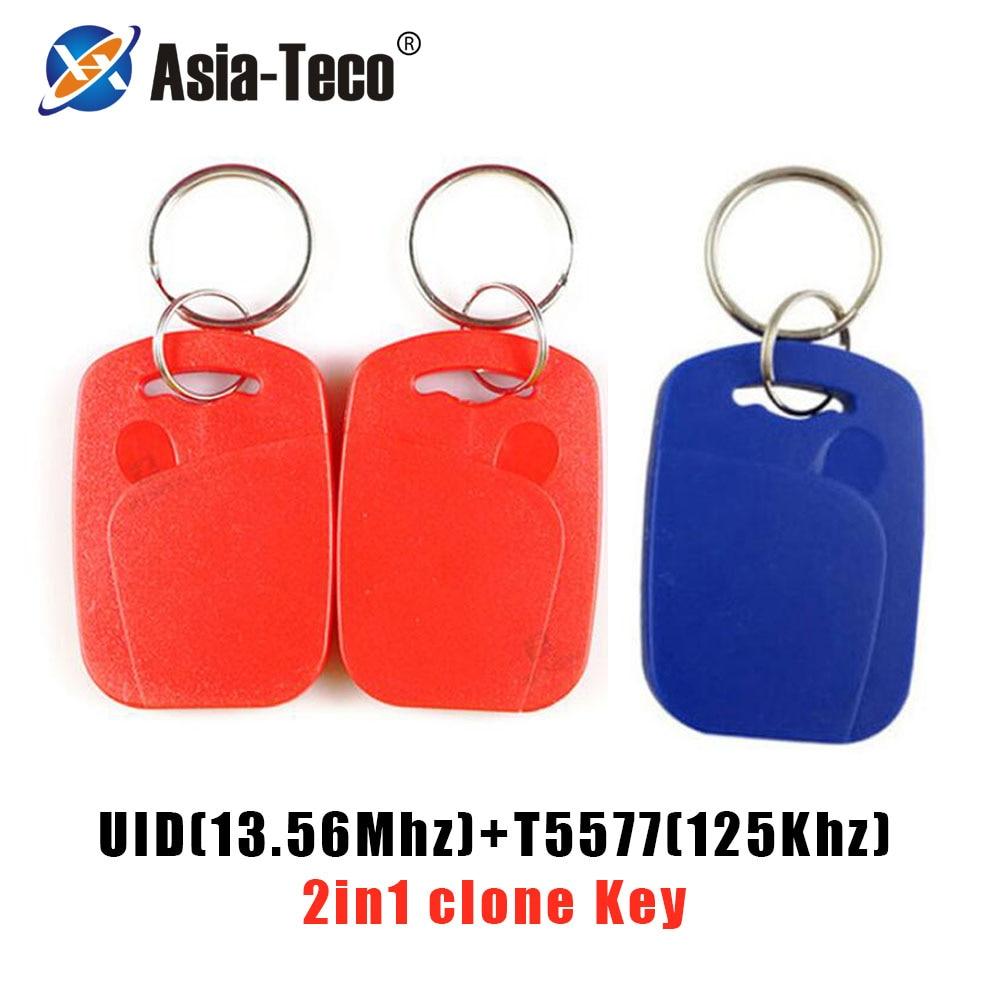 Tarjeta de control de acceso IC + ID UID, Chip Dual, frecuencia...