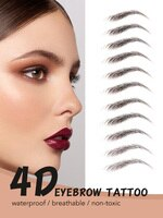 O.TWO.O Eyebrow Tattoo Sticker 4D Super Lasting Waterproof Eyes Makeup False Eyebrows Enhancer Cosmetic