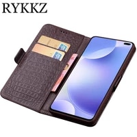 for xiaomi redmi k30 luxury wallet genuine leather case stand flip card hold phone book cover bags for redmi k30 pro 5g case