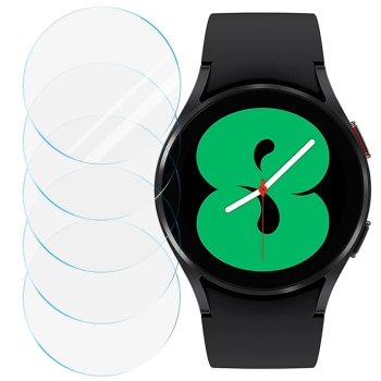 Tempered Glass for Samsung Galaxy Watch 4 40mm 44mm Screen Protector Anti-Scratch for Galaxy Watch 4 Smartwatch (1/2/3/4/5)PCS