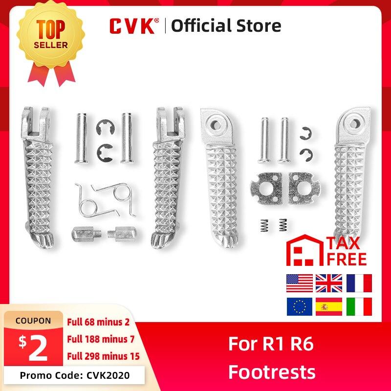 CVK Vorne Und Nach Fußstützen Fuß Peg Ruht Für Yamaha YZF1000 R1 YZF600 R6 YZF R1 R6 R6S1998-2012 1999-2012 2003-2008