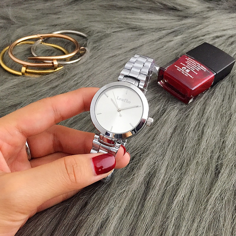 Fashion Bracelet Quartz Watch Stainless Steel Strap Butterfly Buckle Brand Women's Watches relogio feminino montre femme gimto enlarge