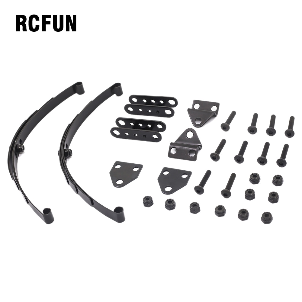 Metal Steel Leaf Spring Suspension Bar for 1:10 Scale RC Rock Crawler SCX10 D90 TF2 F350 Upgrade Part enlarge