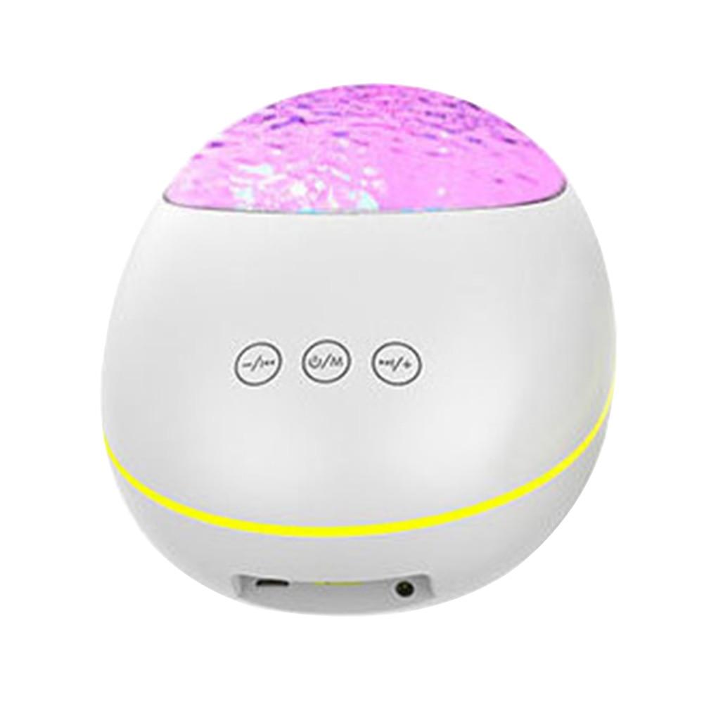 Luz Nocturna ABS para sala de juegos de niños LED Nebula Home Theatre Star proyector portátil Bluetooth Control remoto dormitorio música