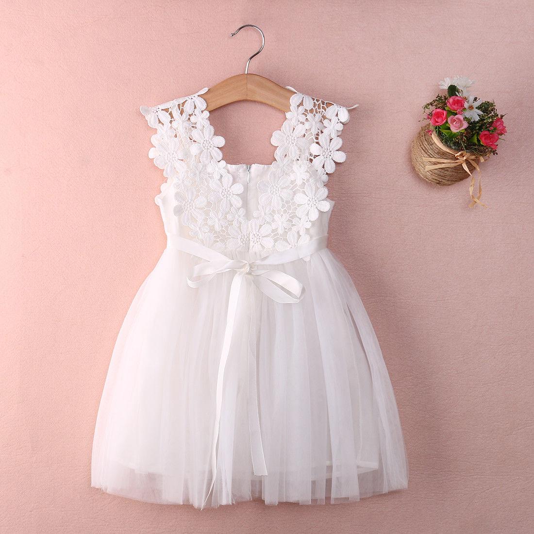 Vestido de ceremonia para bebé niña ropa para niños tutú Vestidos infantiles para Niñas Ropa de boda vestido de fiesta Vestidos Robe Fille