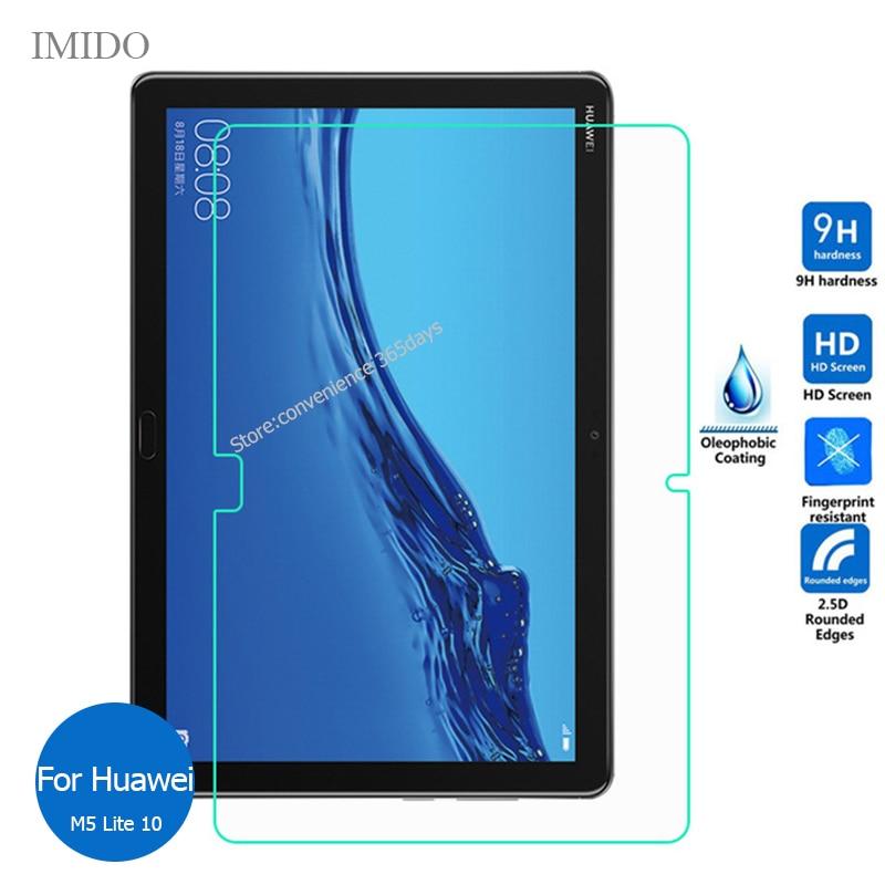 Protector de pantalla de vidrio templado para Huawei Mediapad M5 Lite 10, 9h, película protectora para Media pad M 5 M5Lite 10,1 Bah2-L09 Bah2 L09