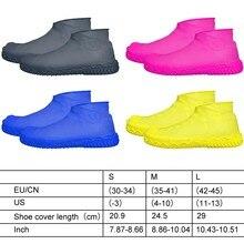 Couvre-chaussures imperméables antidérapantes   Couvre-chaussures réutilisables en Silicone, couvre-chaussures de pluie, bottes de pluie, couverture de chaussures imperméable