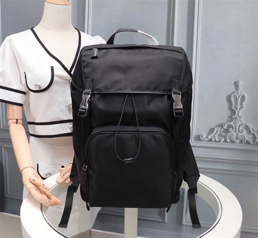 Oxford Men's Backpack Fashion Multi-functional Laptop School Bag Large Capacity Waterproof Hiking Bag for Leisure Travel
