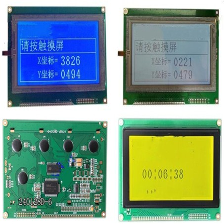 2.42 pulgadas 30PIN verde pantalla OLED SSD1305 unidad IC 128 * 64 interfaz SPI