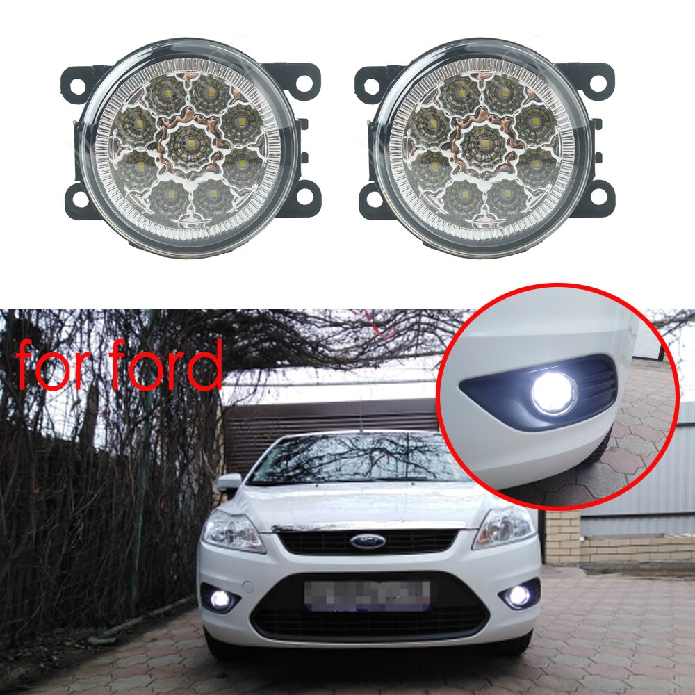 Luces antiniebla, lámparas antiniebla LED, luces antiniebla para FORD focus 2 focus 3 TRANSIT TOURNEO TRANSIT personalizadas FOCUS MK2/3 2004-2015, luces antiniebla 2 uds