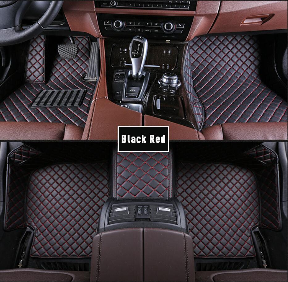 Alfombrillas de coche personalizadas para Honda Civic 4d 2006 2011 2008 2019 CRV Stream Jazz impermeables accesorios de alfombra de cuero para coche alfombrilla de suelo