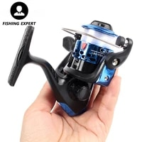 fishing reel spinning metal spool sea fishing carp left and right hands front unloading force type with 40 m fishing line reel