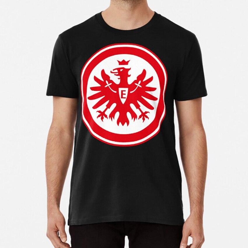 Eintracht frankfurt t camisa eintracht frankfurt eintracht frankfurt futebol esportes alemanha futebol clube liga