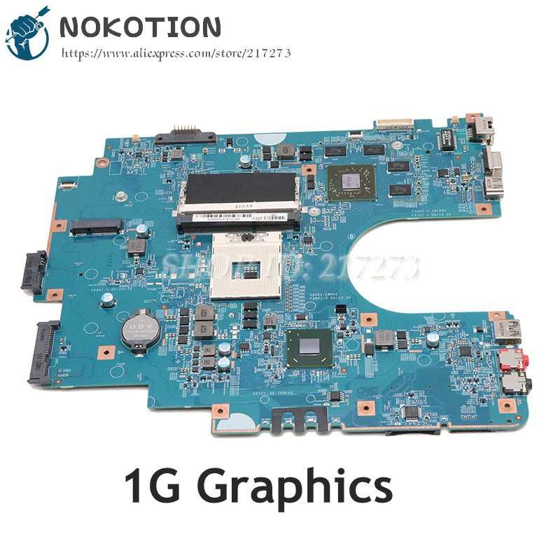 NOKOTION لسوني Sve17 Sve1711 اللوحة المحمول HM76 DDR3 HD7600M GPU A1884314A A1892051A 48.4MR10.021 MBX-267 اللوحة الرئيسية