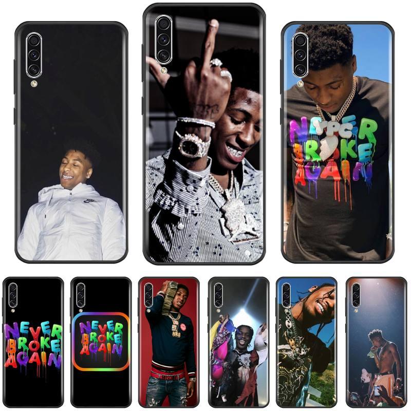 Funda de teléfono de TPU de la NBA Never Broke Again Rapper USA para Samsung A20, A30, 30s, A40, A7, 2018, J2, J7 prime J4 Plus, S5, Note 9, 10 Plus
