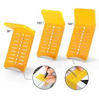 FOSHIO 3pcs Window Tint Film Marking Scraper Vinyl Car Wrap Sticker Marker Measure Squeegee Cutting Aid Tool Tinting Accessories
