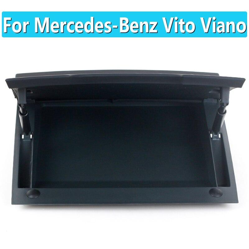 لمرسيدس بنز فيانو فيتو لوحة القيادة صندوق تخزين علوي ، أشتات صندوق غطاء صندوق تخزين