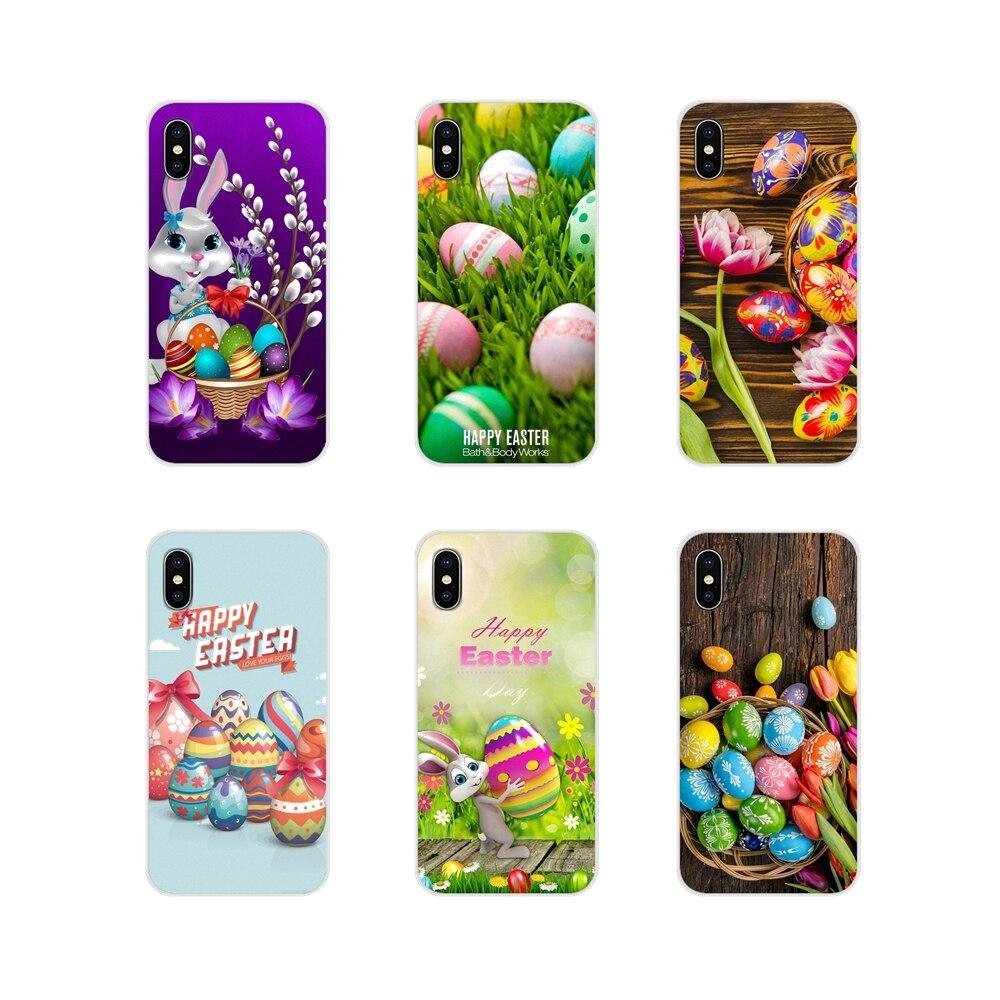 Easter ovo Casca de Ovo Pintada Para Samsung Galaxy A3 A5 A7 A9 A8 Estrela A6 Mais 2018 2015 2016 2017 Acessórios escudo do telefone Covers