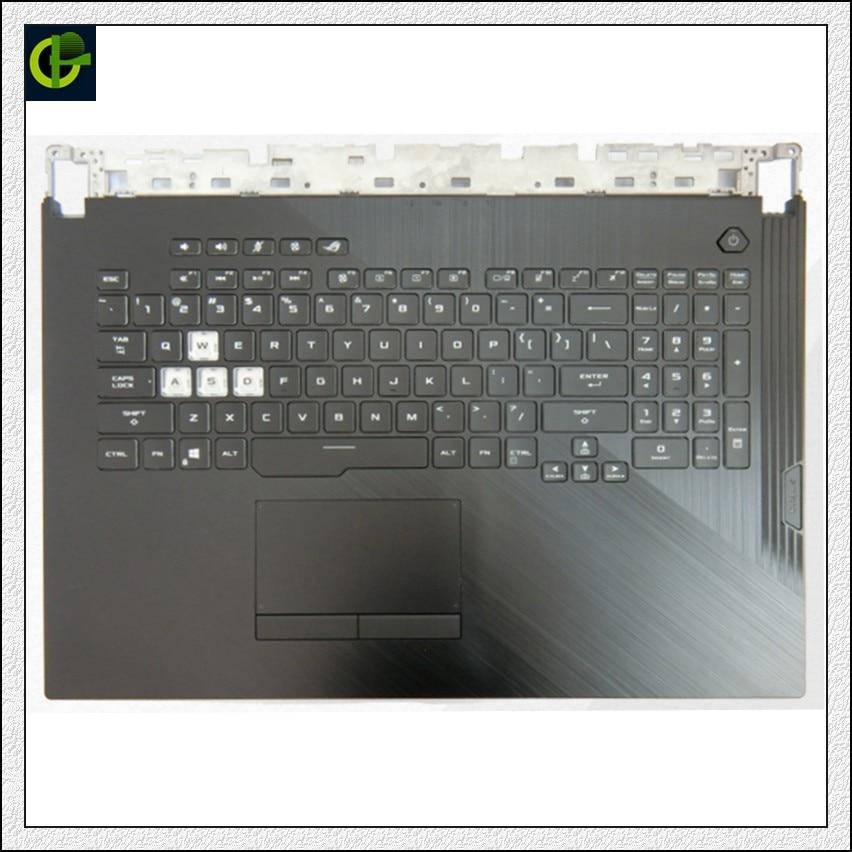 لوحة مفاتيح بإضاءة خلفية إنجليزية لـ Asus ROG Strix 3Plus G731 G731G G731GD G731GU GL731G G712L S7D غلاف حماية الولايات المتحدة shell