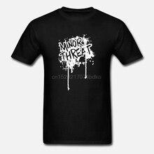 사소한 위협 티셔츠 Drip Logo 블랙 뉴 정통 S-XL 여름 남성 패션 TeeComfortable t shirtCasual Short Sleeve TEE