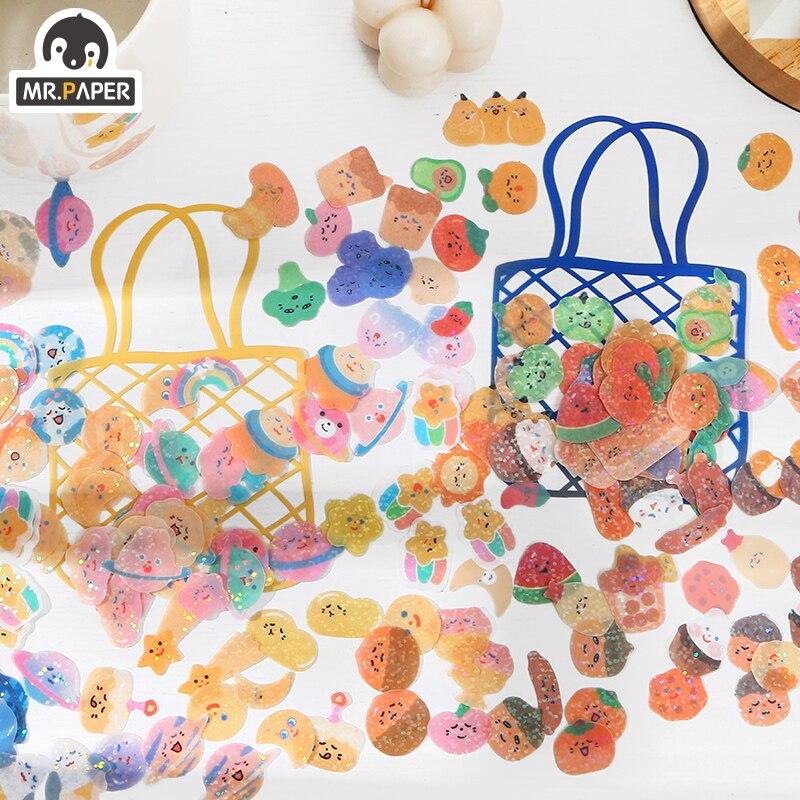 mrpaper-100-pz-borsa-2-disegni-ins-stile-pistacchio-serie-carino-diario-scrapbooking-creativo-conto-mano-adesivi-decorazione-fai-da-te