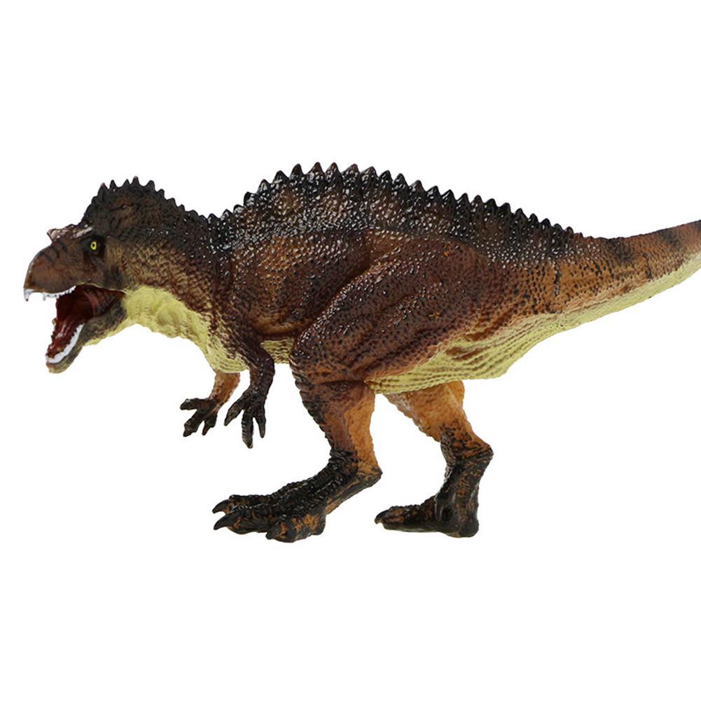 Имитация акробантозавра динозавр фигурка животного модель настольного декора детская игрушка подарок для детей день рождения Новинка