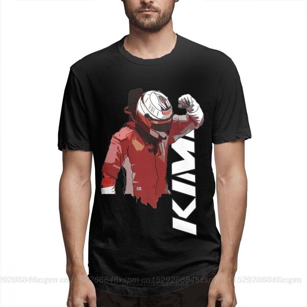 Una yona 3D imprimir camiseta Kimi Raikkonen Tee para hombre Casual Streetwear para hombre o-cuello camiseta Top diseño Casual de moda