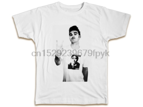 Camiseta do steven patrick dos smiths morrissey-presente de aniversário legal reto