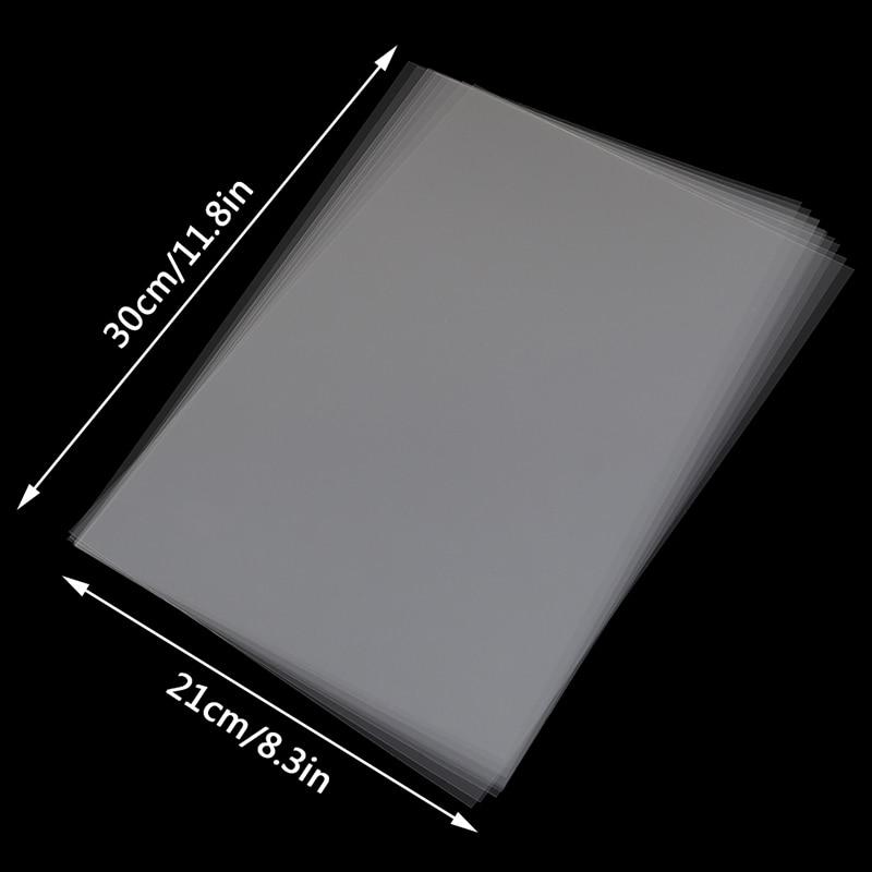 10 шт. A4 струйная лазерная печать прозрачная пленка фотобумага печатные платы трафареты 11,8 * 8.3in