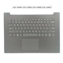 Palmrest Housing Keyboard Cover For Lenovo ideapad 320-14IAP 320-14IKB 330-14IKB Bottom Cover Lower Case Base Carcass