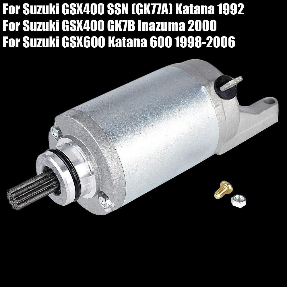 محرك بدء التشغيل لـ Suzuki GSX600 GSX400 Katana GSX400 GK7B Inazuma / GSX 600 400
