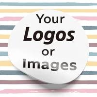 3 5cm 4 5cm 6cm personalized custom logo sticker wedding sticker label sticker design your own sticker birthday baptism sticker