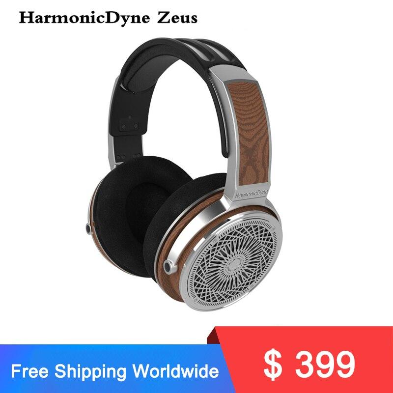 Zeus-سماعات صوت ديناميكية ، سماعات رأس استريو MMCX ، شاشة موسيقى 50 مللي متر للاستوديو DJ ، صوت موسيقي فوق الرأس