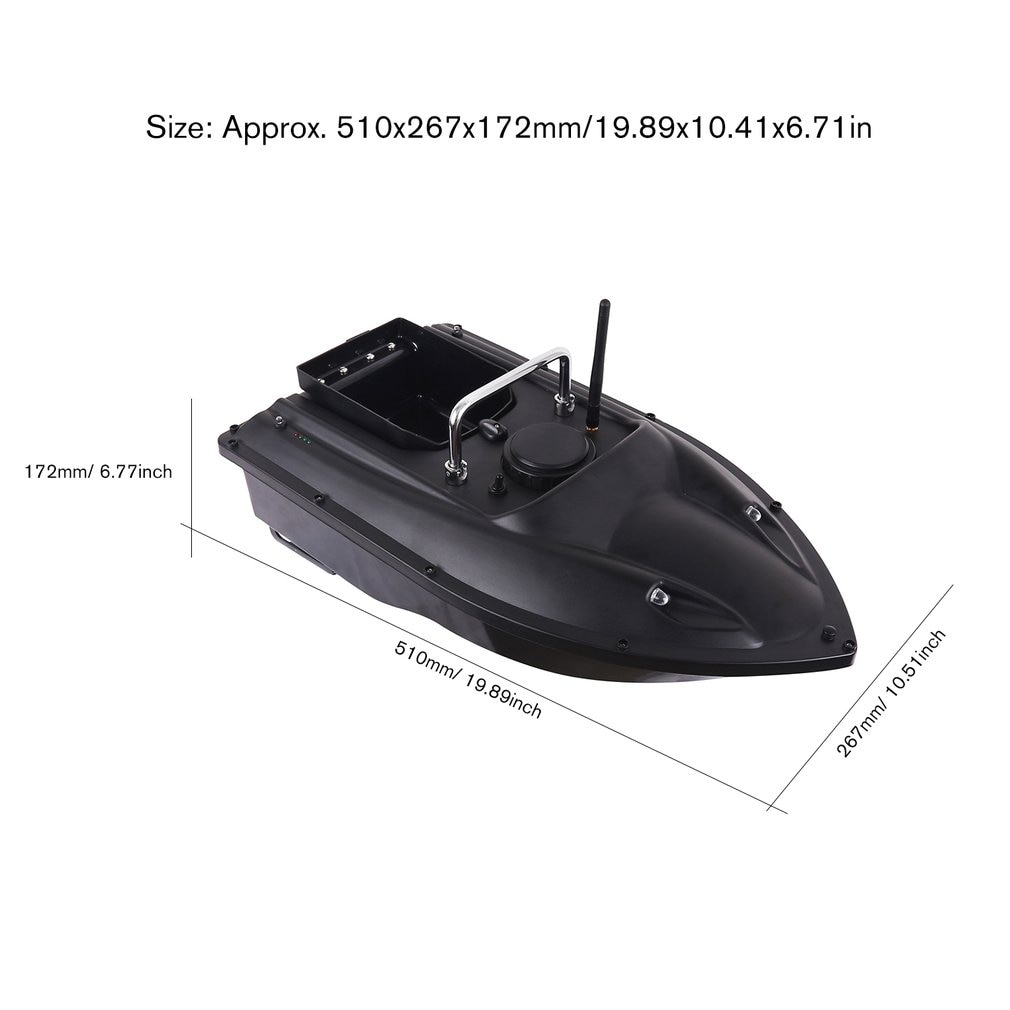 D13 Smart RC Bait Boat Dual Motor Fish Finder Ship Boat Remote Control 500m Fishing Boats Speedboat Fishing Tool Toys enlarge